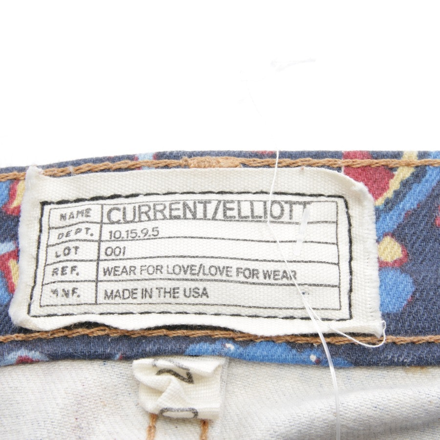 Jeans von Current/Elliott in Multicolor Gr. W27