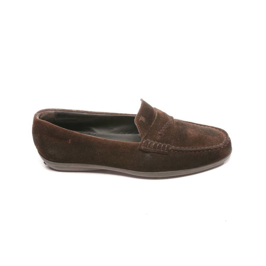 loafers from Tod´s in dark brown size D 34,5