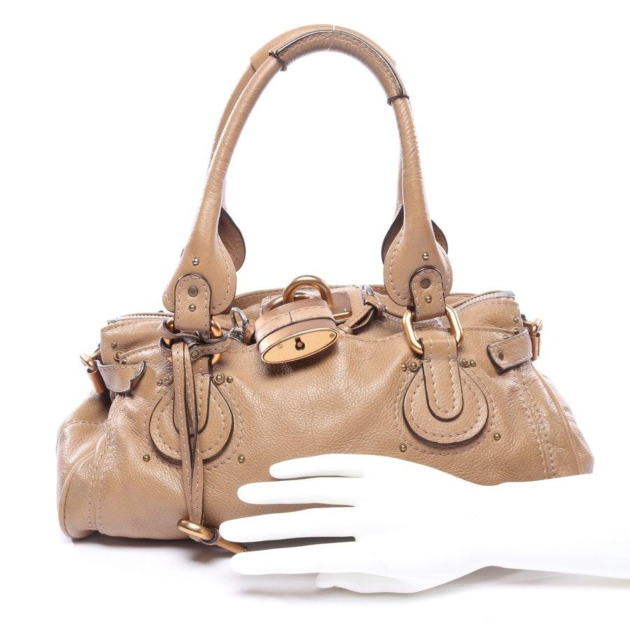 Handtasche von Chloé in Beige Paddington