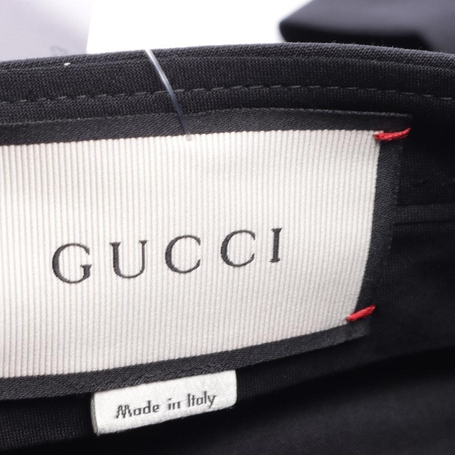 Hose von Gucci in Schwarz Gr. 34 IT 40 Neu