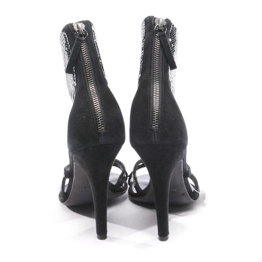 heeled sandals from Giuseppe Zanotti for Pierre Balmain in black size D 38 - new