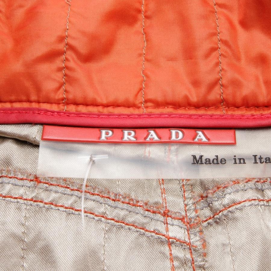 Rock von Prada Linea Rossa in Orange Gr. 34 IT 40