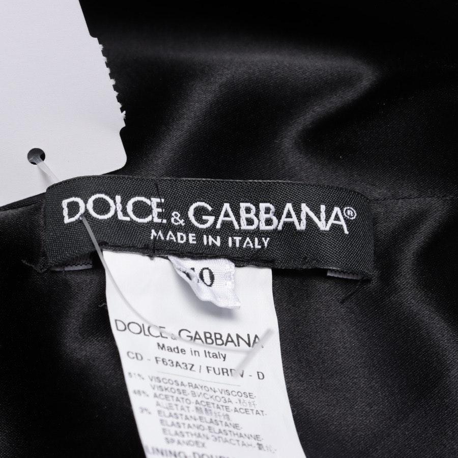 Midikleid von Dolce & Gabbana in Schwarz Gr. 34 IT 40