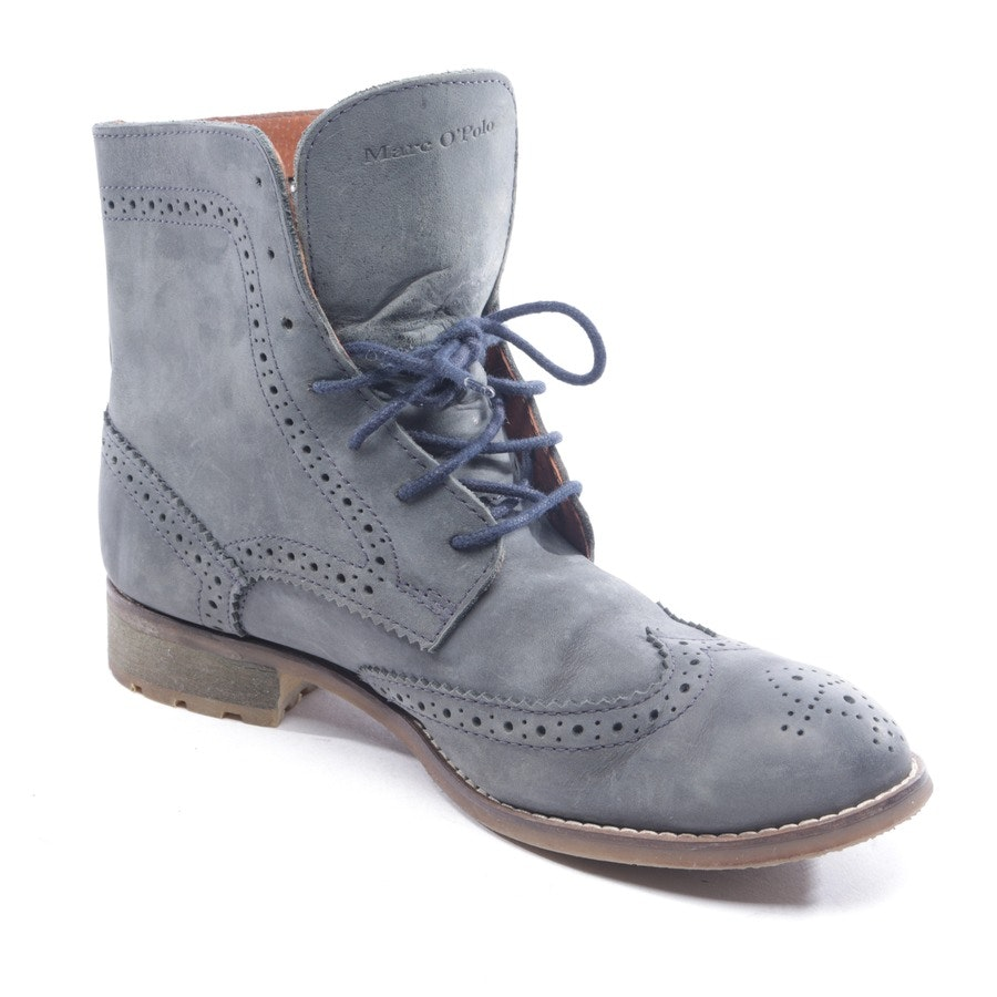 ankle boots from Marc O'Polo in grey/blue size D 38,5 UK 5,5