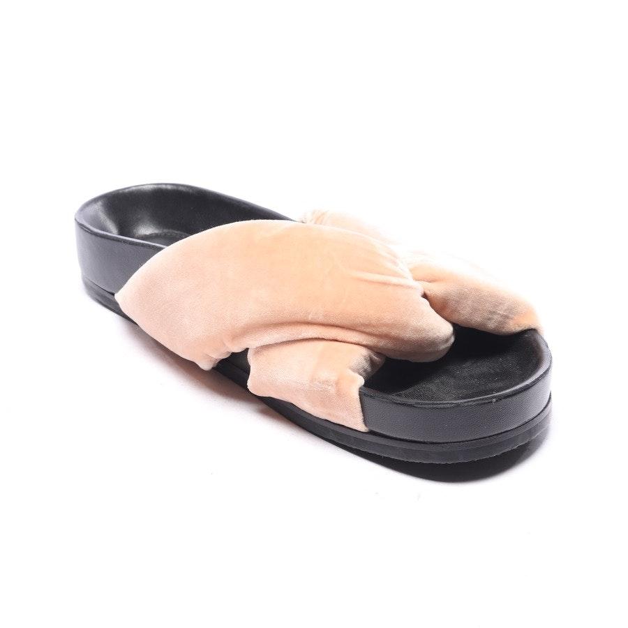 Sandalen von Chloé in Beige und Schwarz Gr. EUR 37