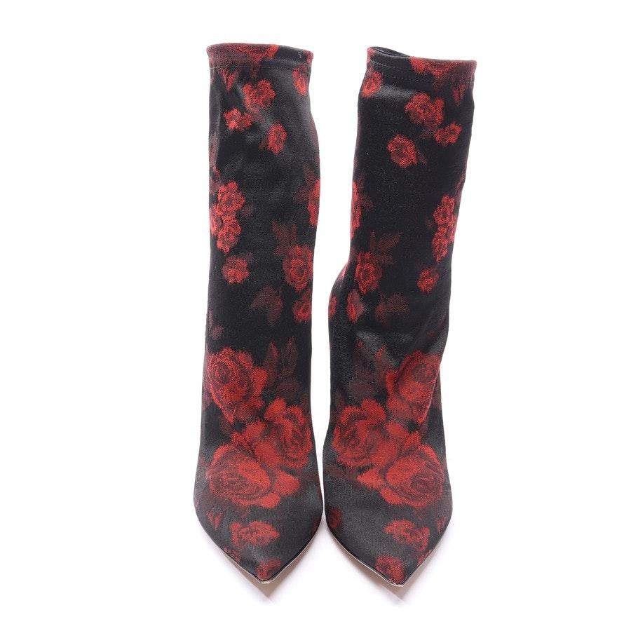 Stiefeletten von Dolce & Gabbana in Rot und Schwarz Gr. EUR 38