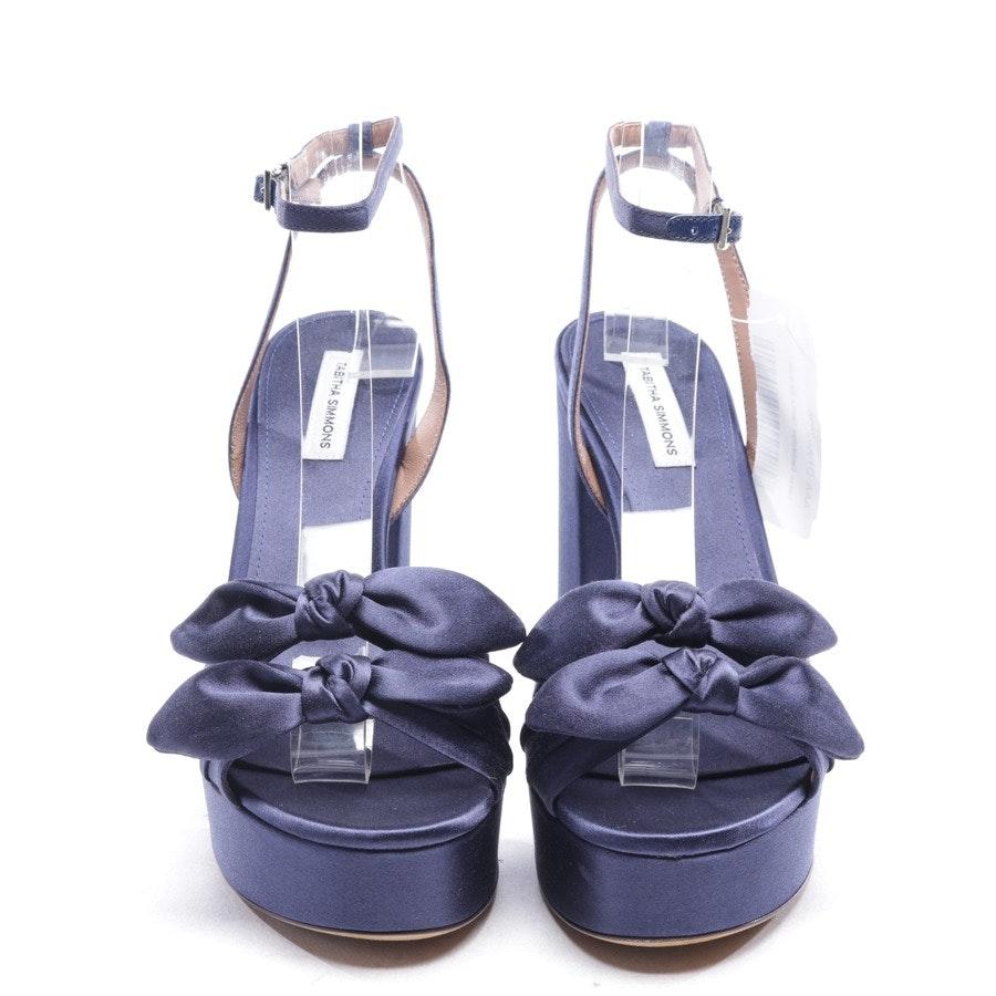 Sandaletten von Tabitha Simmons in Dunkelblau Gr. D 37 - Jodie