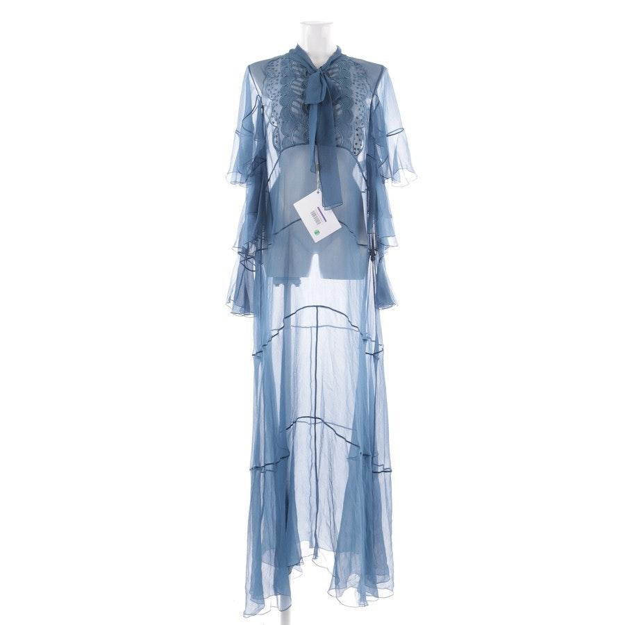 Seidenkleid von Chloé in Blau Gr. 42 FR 44
