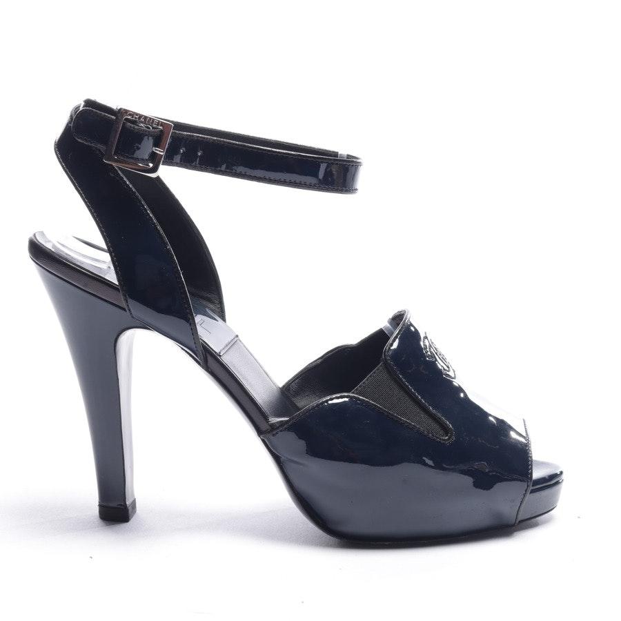 Sandaletten von Chanel in Blau Gr. EUR 37