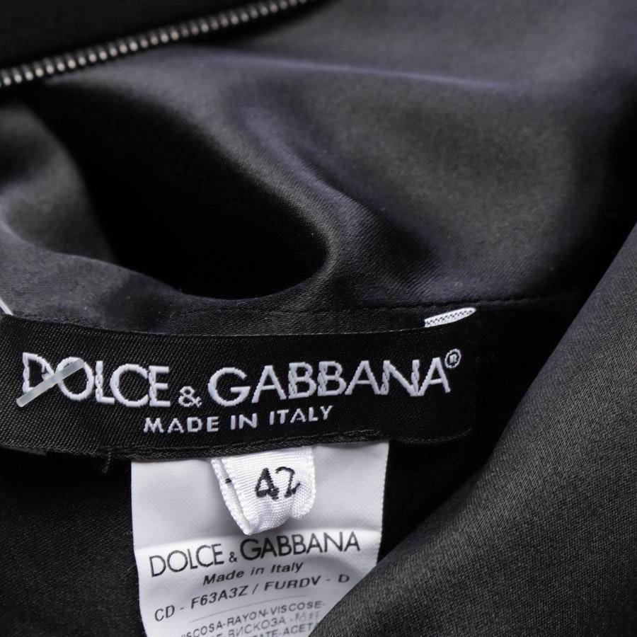 Midikleid von Dolce & Gabbana in Schwarz Gr. 36 IT 42