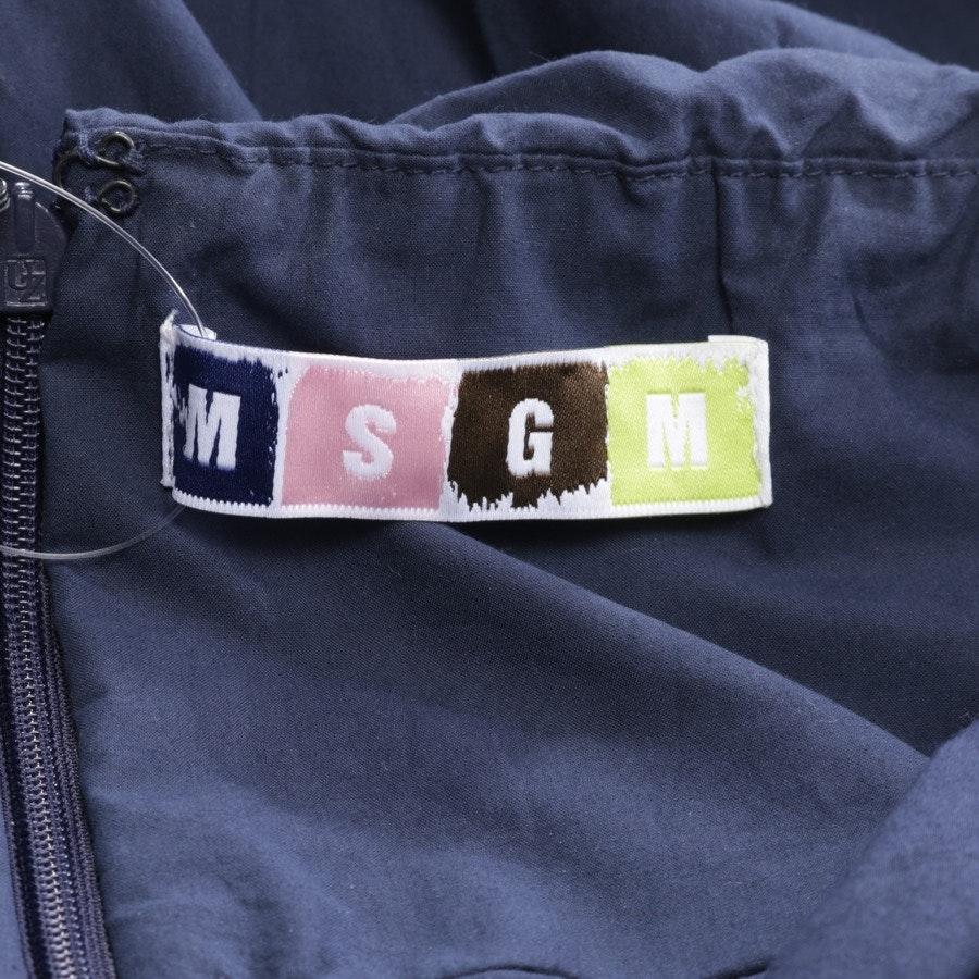Jumpsuit von MSGM in Dunkelblau Gr. 32 IT 38
