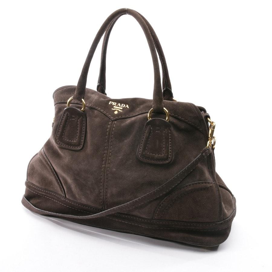 Handtasche von Prada in Graubraun