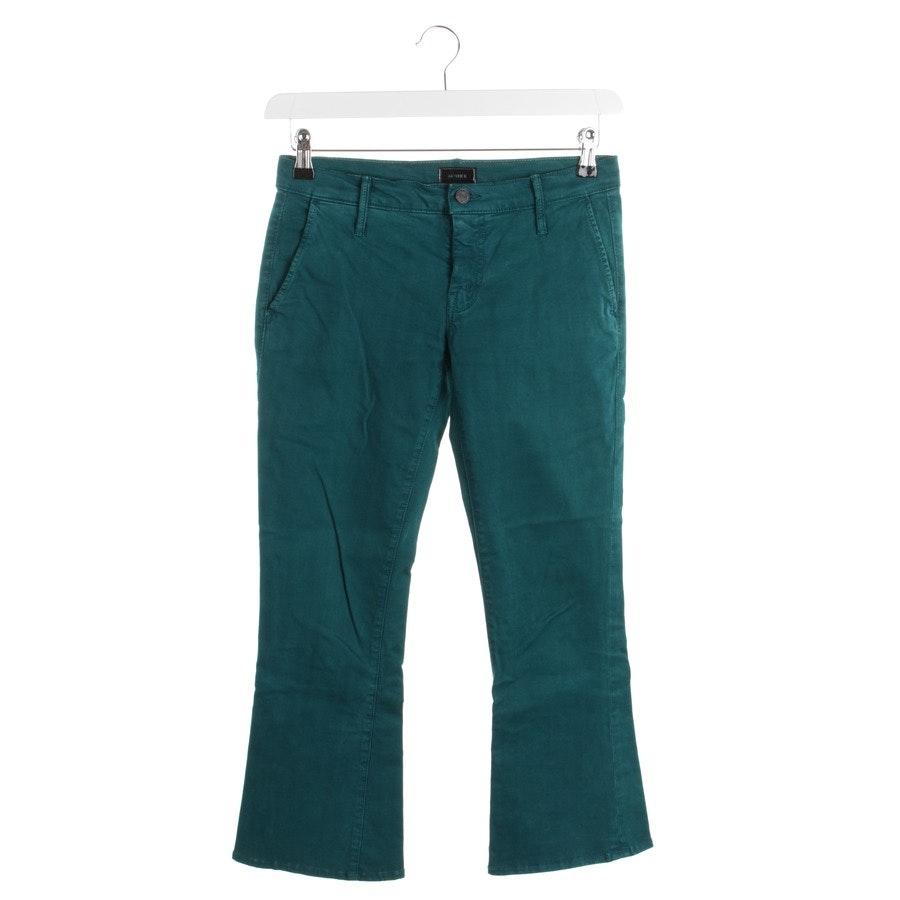 Jeans von Mother in Smaragdgrün Gr. W27