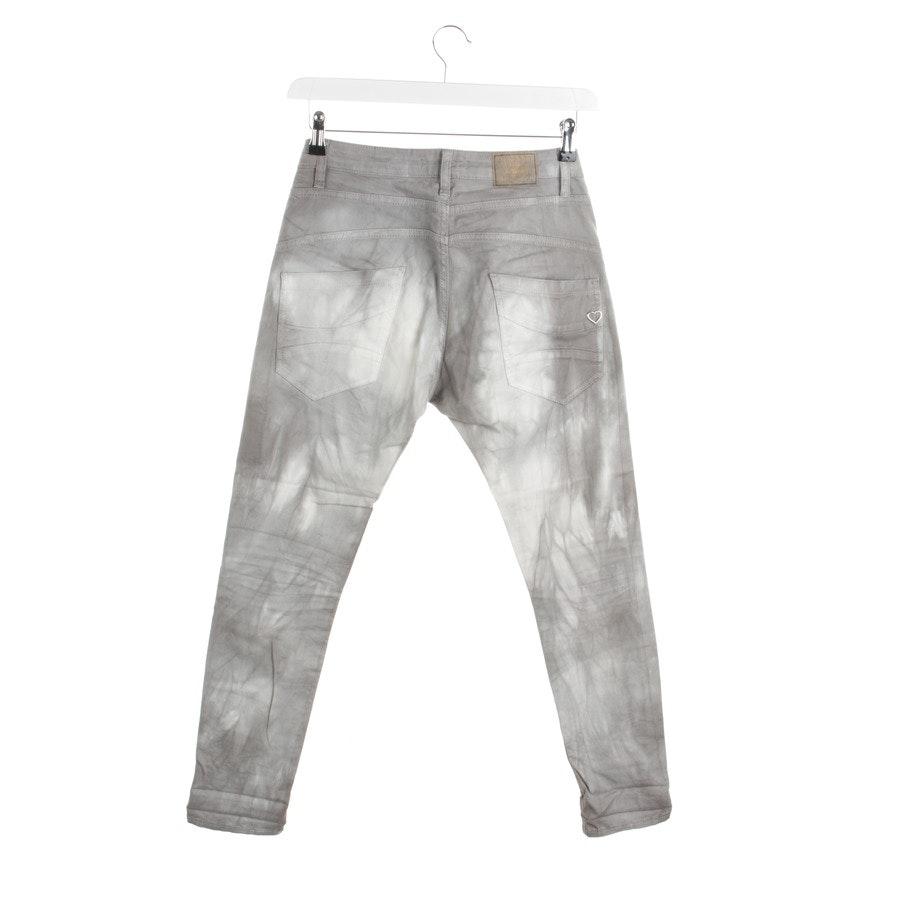 Jeans von Please in Grau und Weiß Gr. 2XS