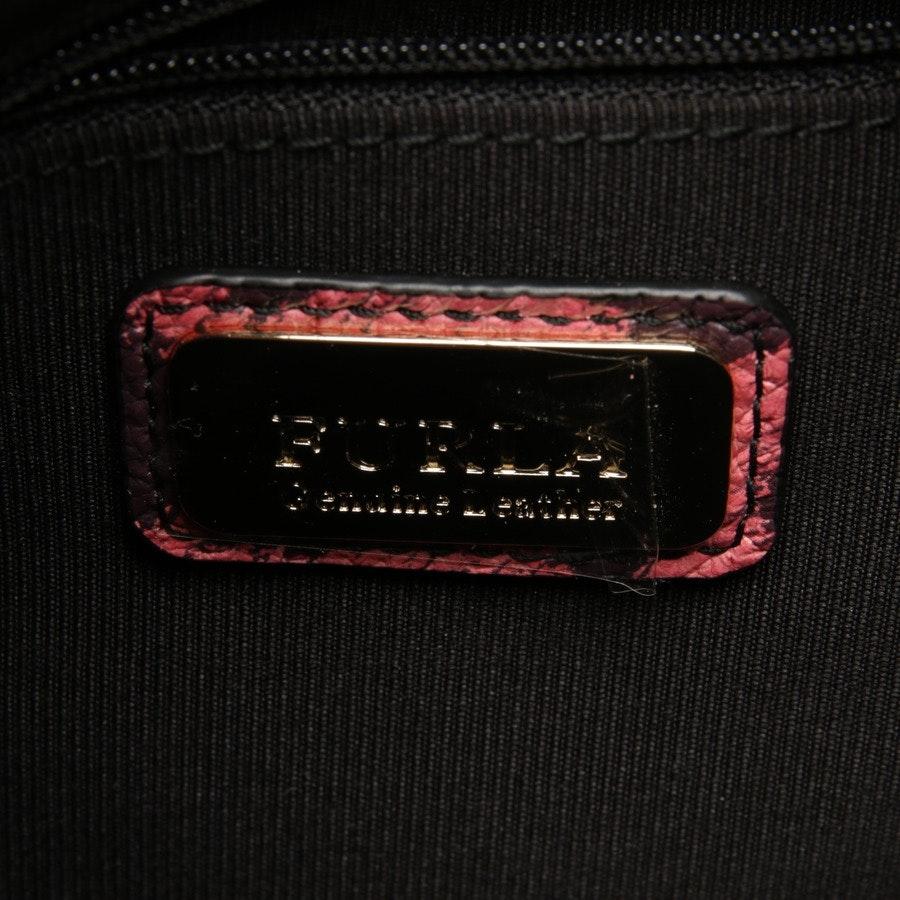 backpack from Furla in pink and purple - mini leoprint backpack frida - new