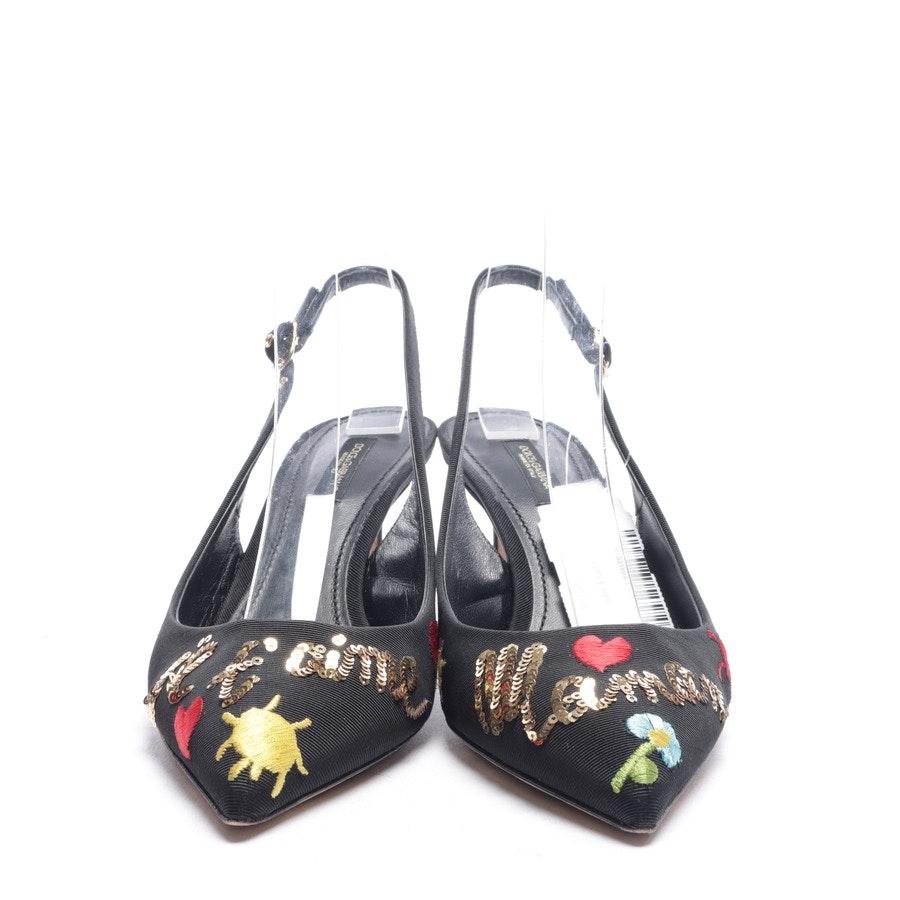 Pumps von Dolce & Gabbana in Schwarz und Mehrfarbig Gr. EUR 38