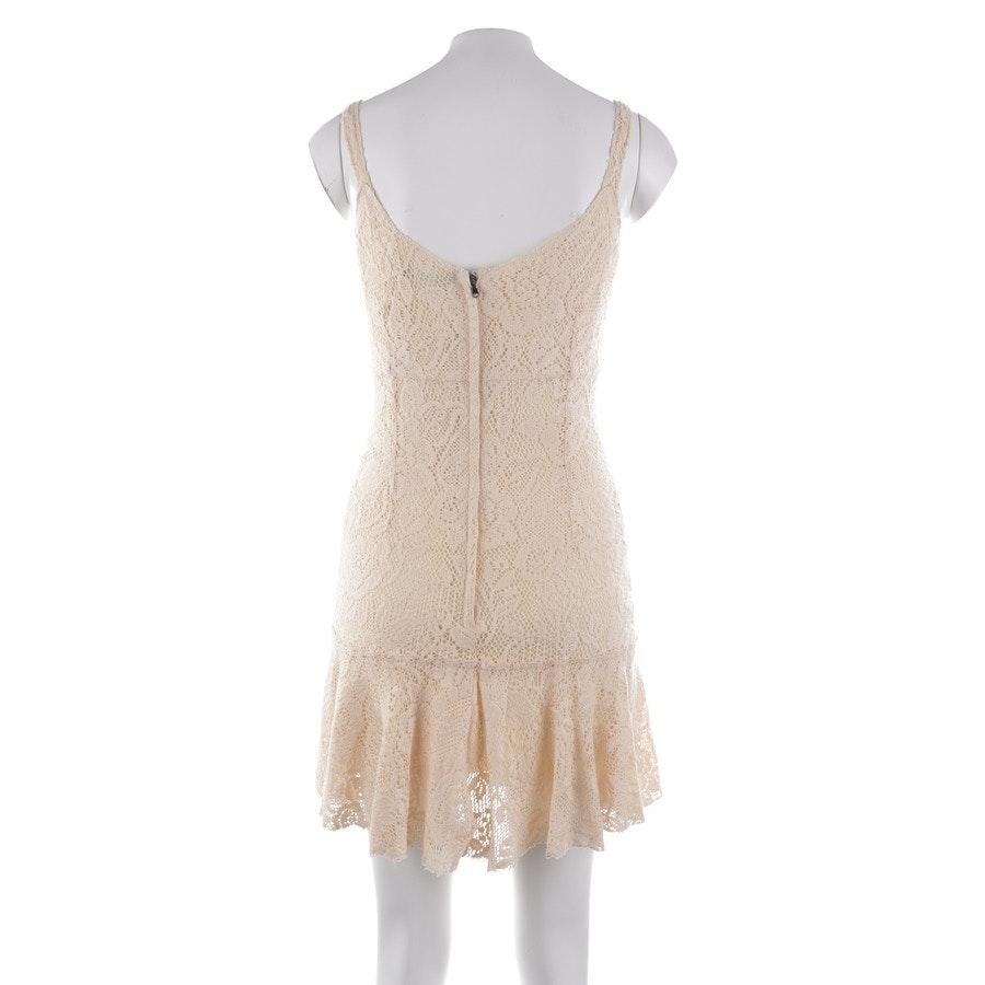 Spitzenkleid von Dolce & Gabbana in Pastellgelb Gr. 36 IT 42