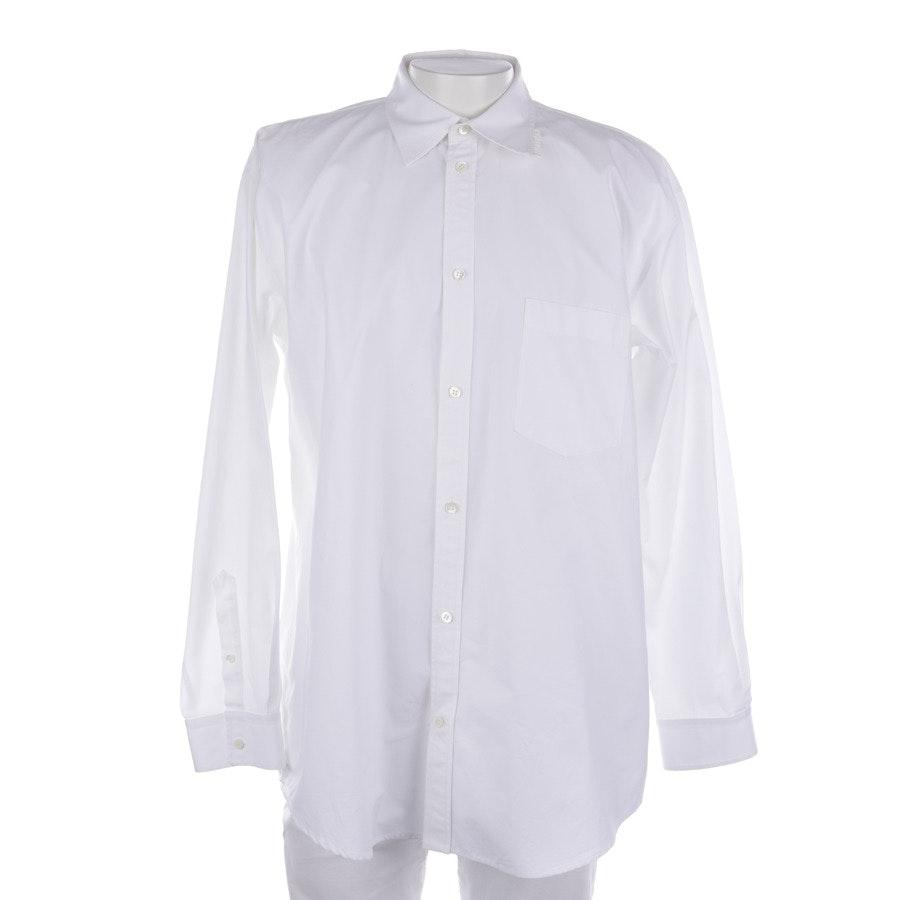 Freizeithemd von Balenciaga in Weiß Gr. 40