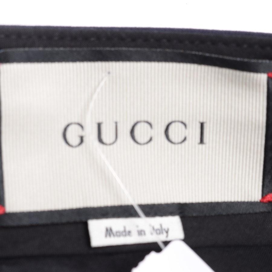 Hose von Gucci in Dunkelblau Gr. 36 IT 42 Neu