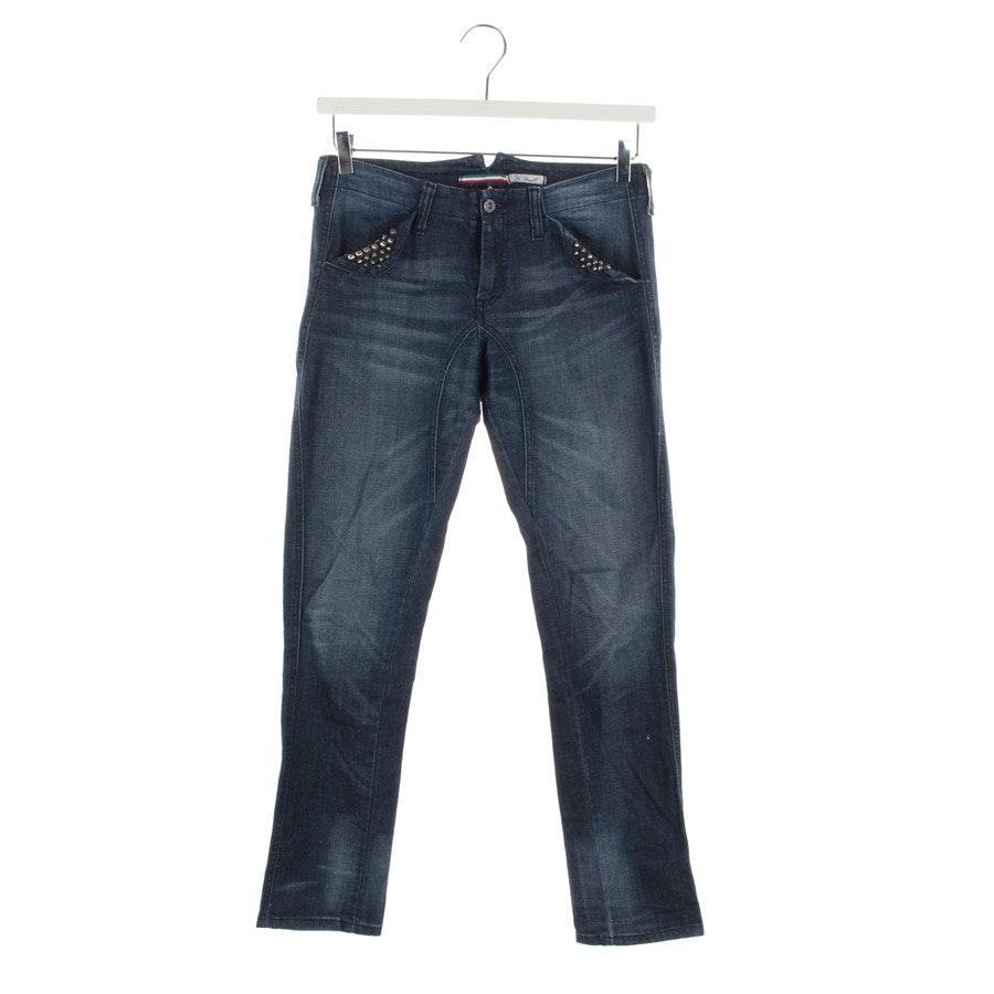 Jeans von Please in Mittelblau Gr. XS