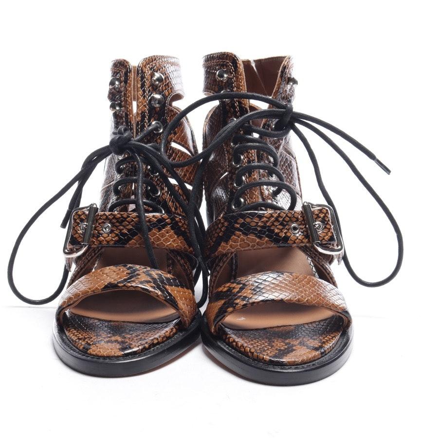 Sandaletten von Chloé in Braun und Schwarz Gr. EUR 35 Neu