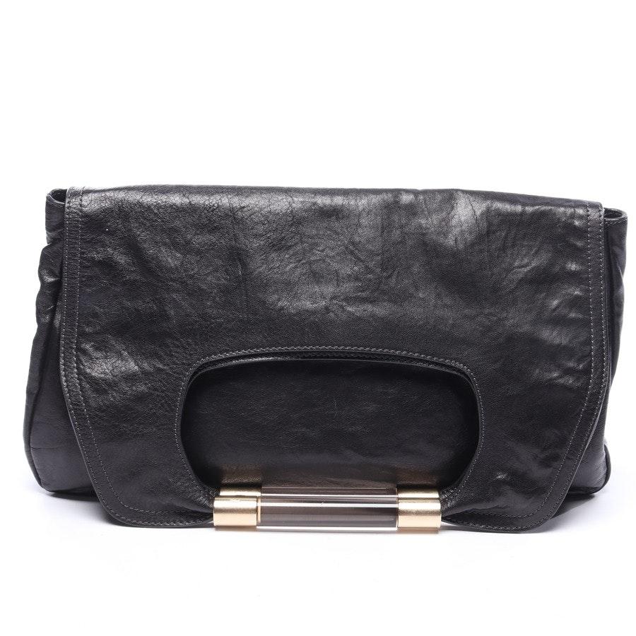 Clutch von Chloé in Schwarz Nancy Flap Over Bag