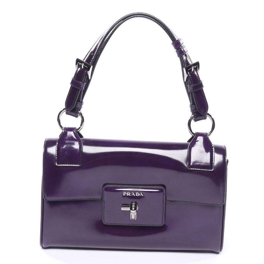 Handtasche von Prada in Dunkelviolett