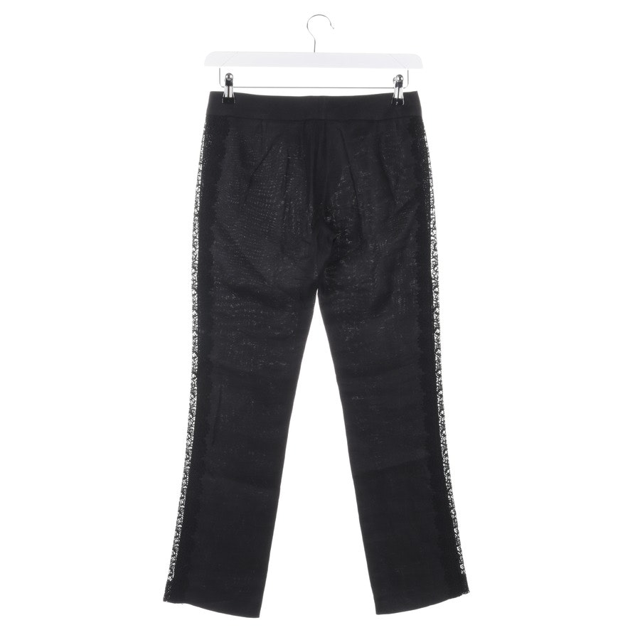 trousers from Valentino in black size 34 IT 40