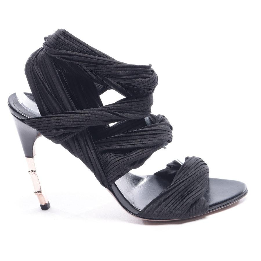 Sandaletten von Gucci in Schwarz Gr. EUR 40 Bamboo