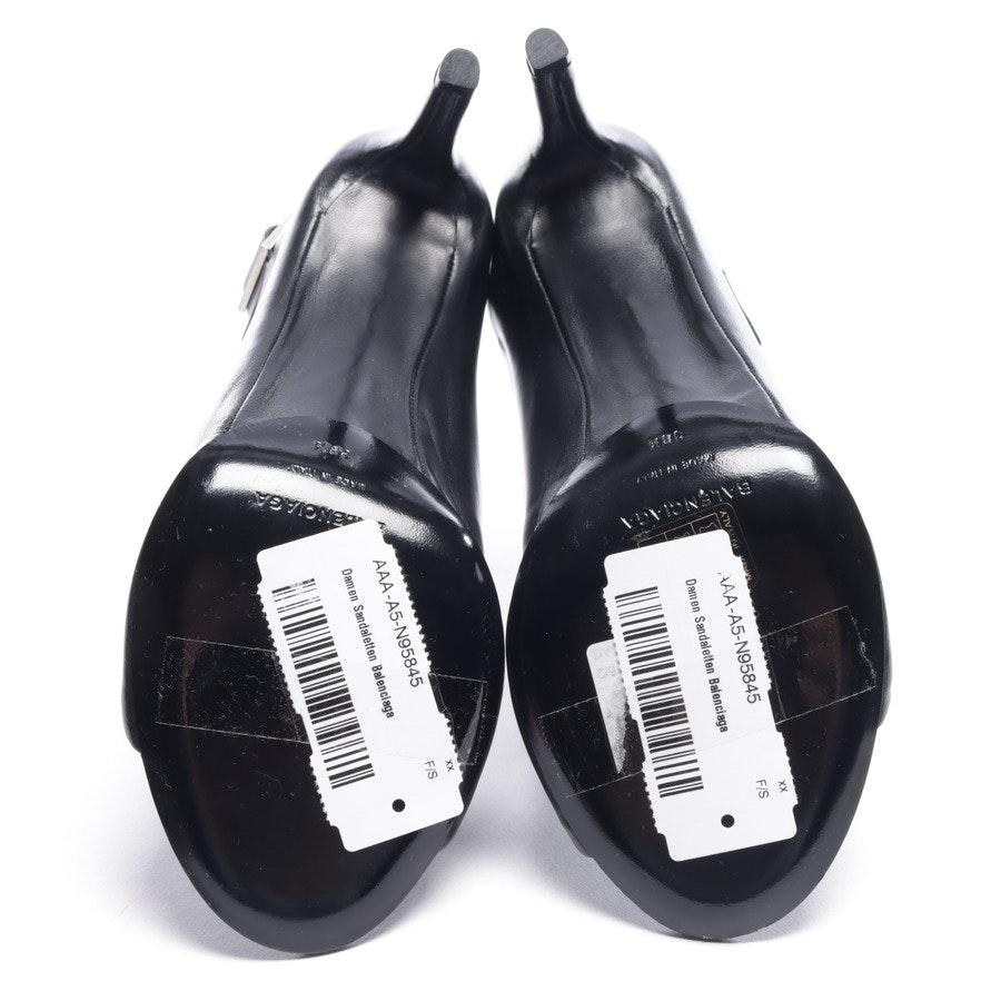 Sandaletten von Balenciaga in Schwarz Gr. EUR 38,5 Neu