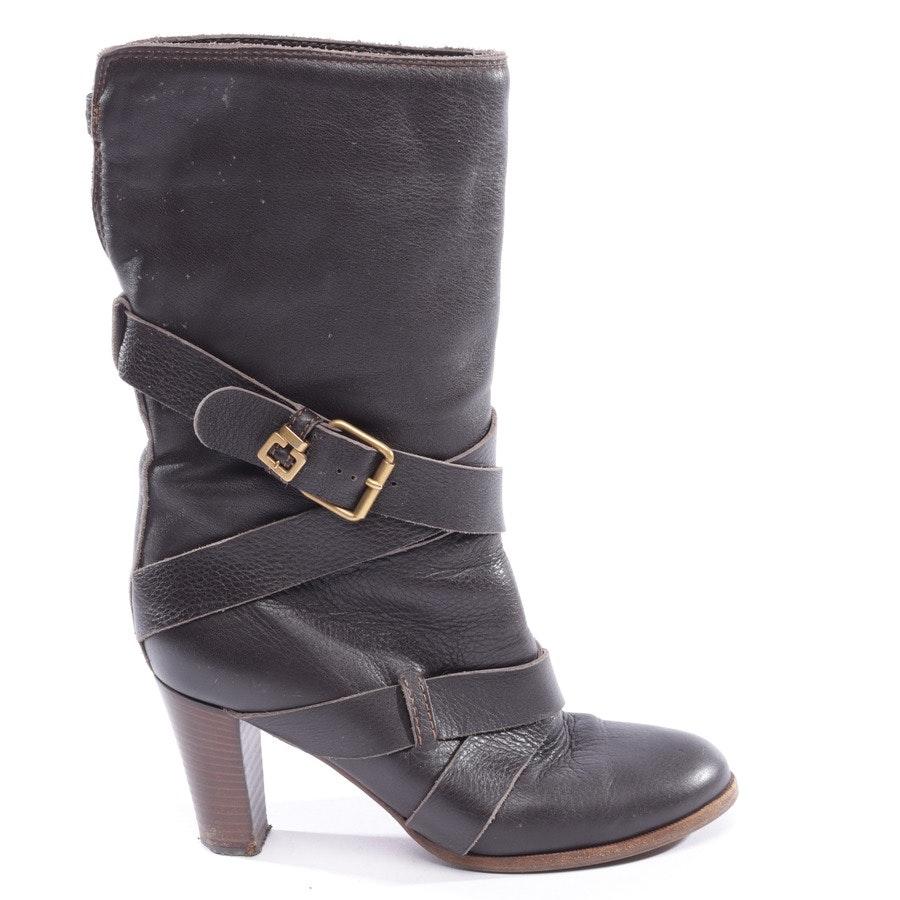 Stiefel von Chloé in dunkelbraun Gr. EUR 38,5