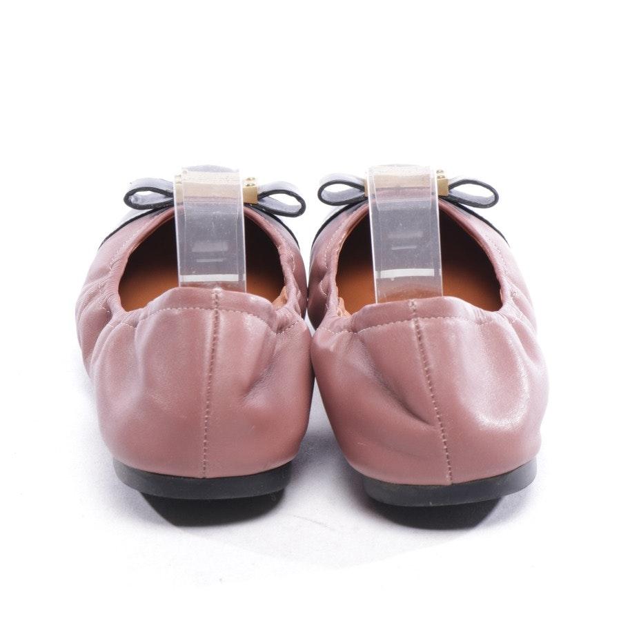 Ballerinas von Marc by Marc Jacobs in Lila und Schwarz Gr. D 36