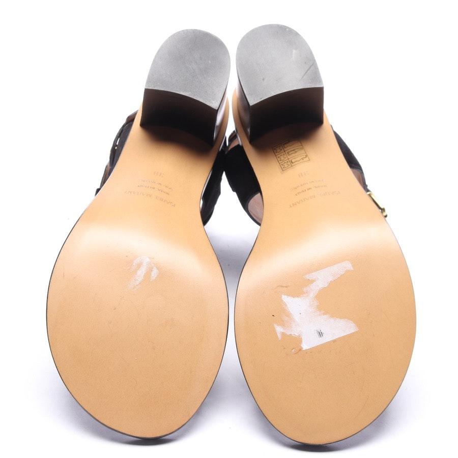 Sandaletten von Isabel Marant in Schwarz und Gold Gr. EUR 38 Neu