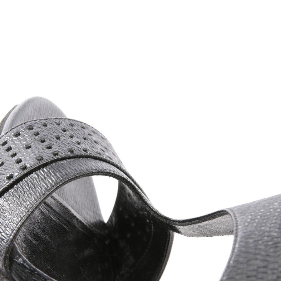 Sandaletten von Hugo Boss in Schwarz Gr. D 39,5
