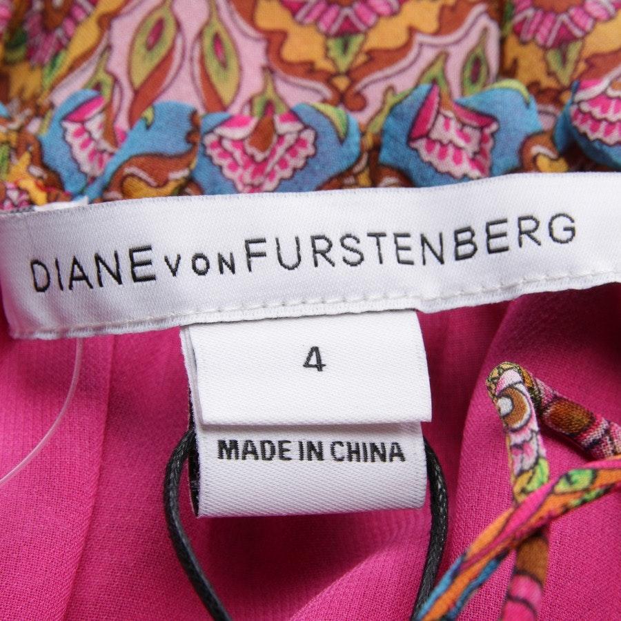 Seidenkleid von Diane von Furstenberg in Multicolor Gr. 34 US 4 - Neu