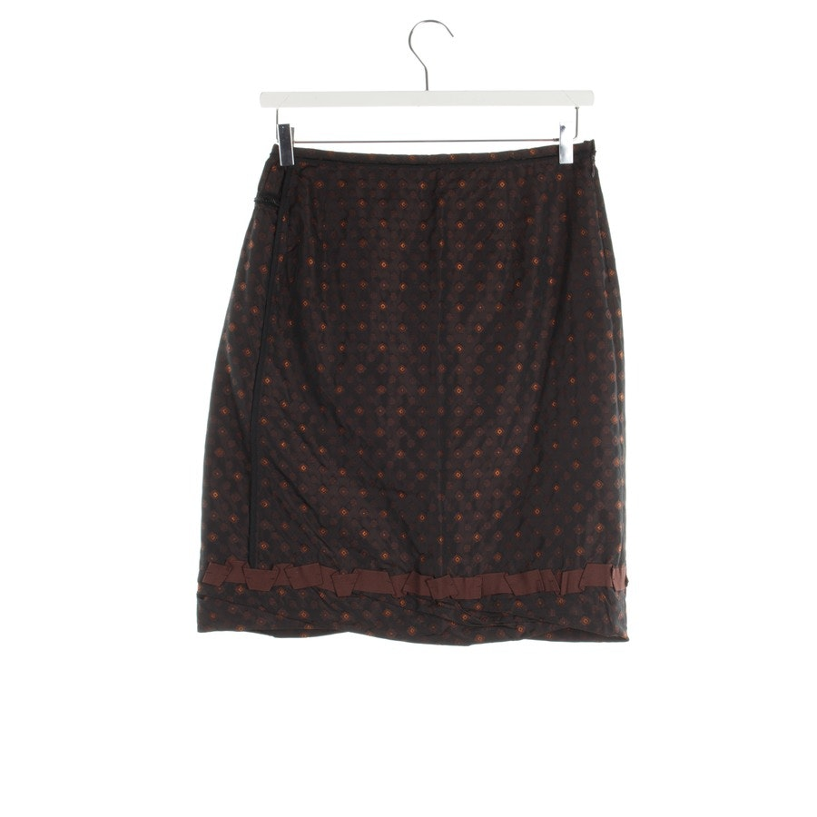 skirt from Schumacher in black and brown size M