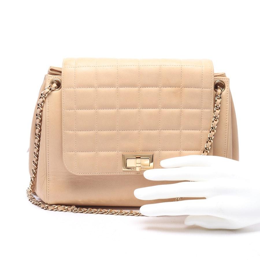 Schultertasche von Chanel in Beige Mademoiselle Square Flap