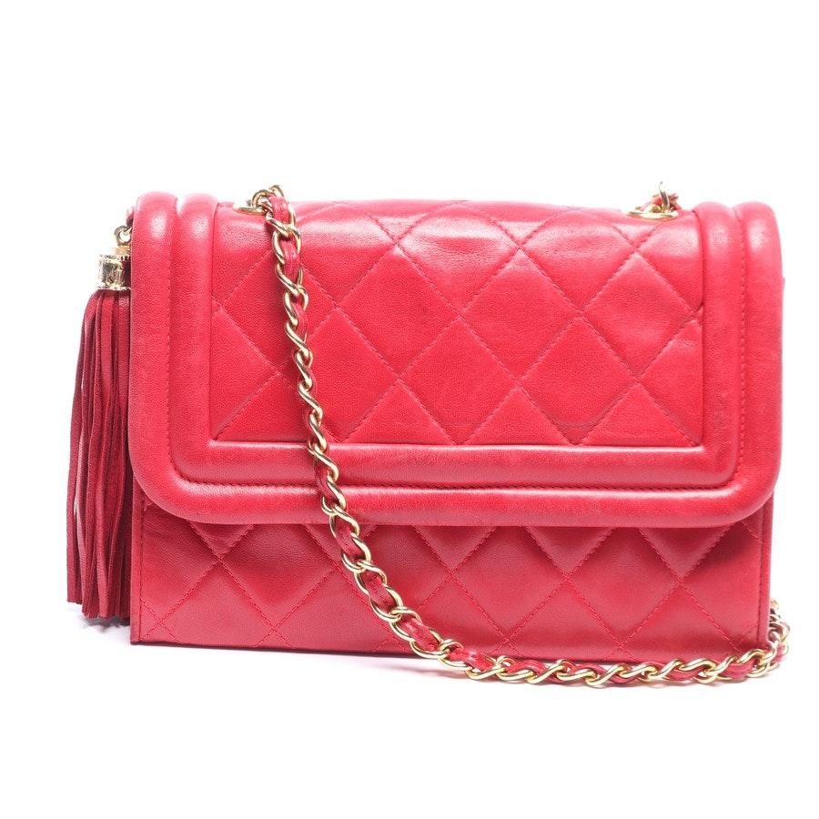 Abendtasche von Chanel in Rot Mini Flap Bag