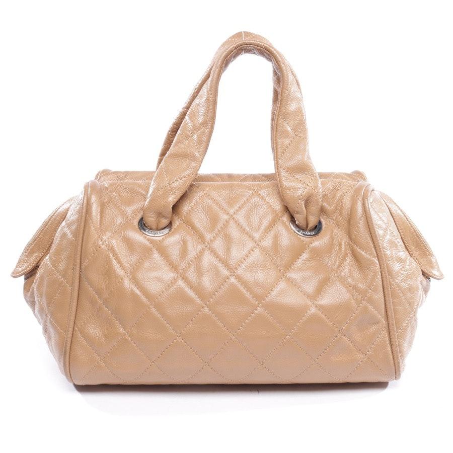 Handbag from Chanel in Tan CC Boston Hand Tote