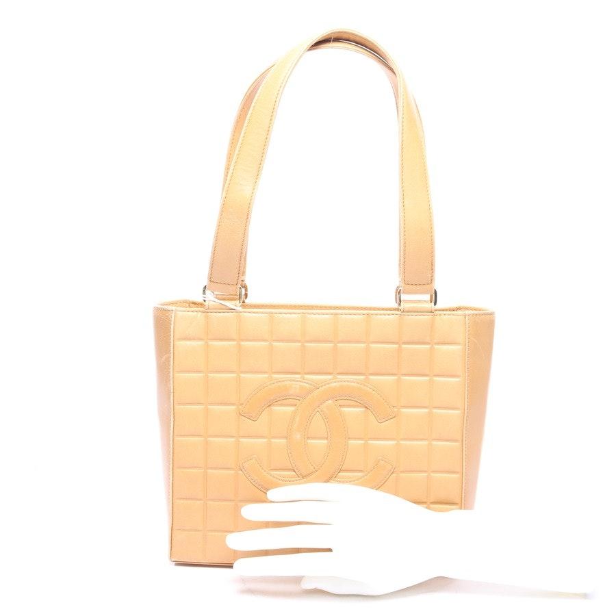 Schultertasche von Chanel in Beige