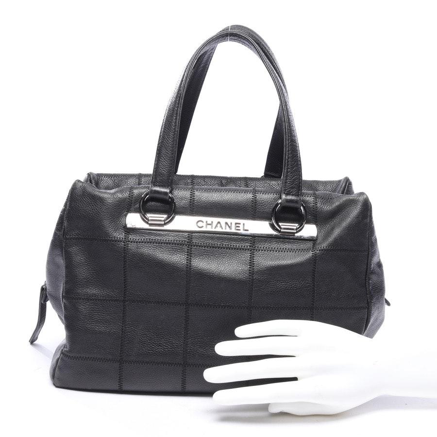 Handtasche von Chanel in Schwarz Lax Bowler Bag