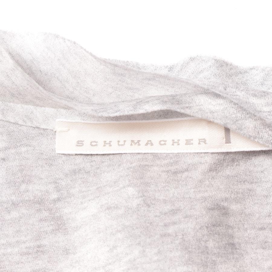 Bluse von Schumacher in Hellgrau Gr. M