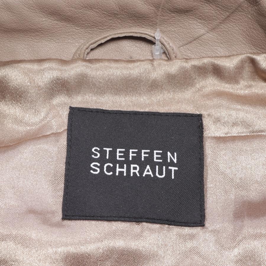 Lederjacke von Steffen Schraut in Braun Gr. 36