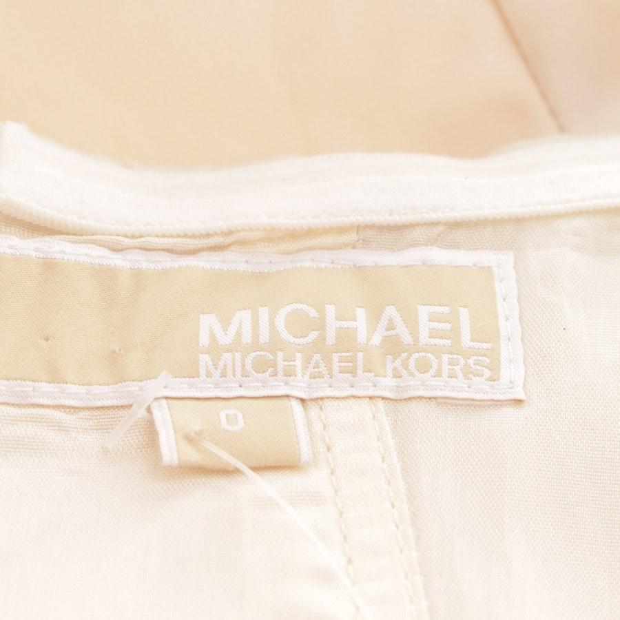 Bandeaukleid von Michael Kors in Creme Gr. DE 30 US 0
