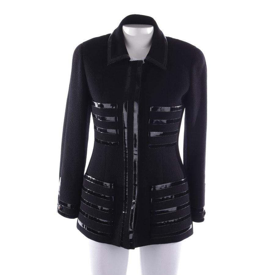Übergangsjacke von Chanel in Schwarz Gr. 38 FR 40
