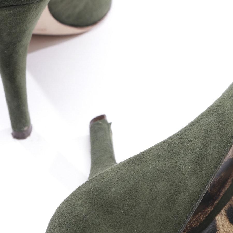 Pumps von Dolce & Gabbana in Waldgrün Gr. D 39