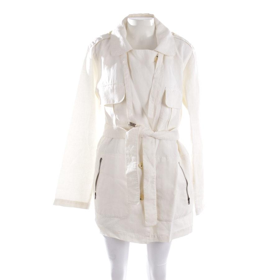 between-seasons jackets from Sonia Rykiel in white size 38 FR 40