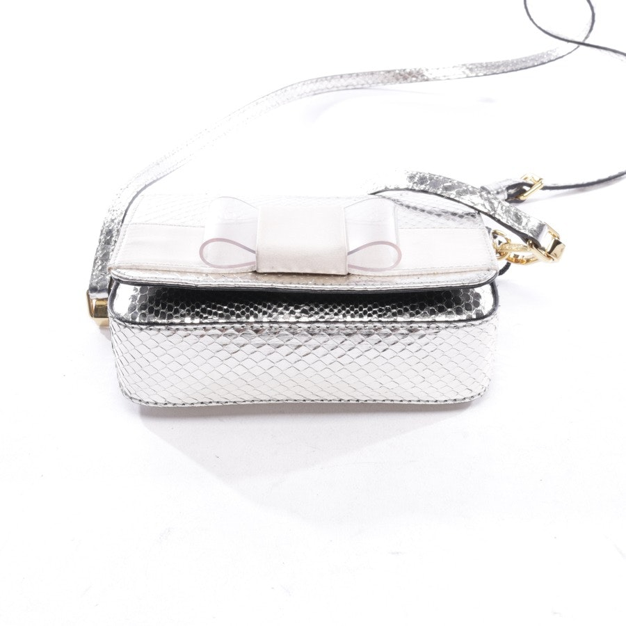 Abendtasche von Burberry Prorsum in Silber - Berkeley Genuine Crossbody