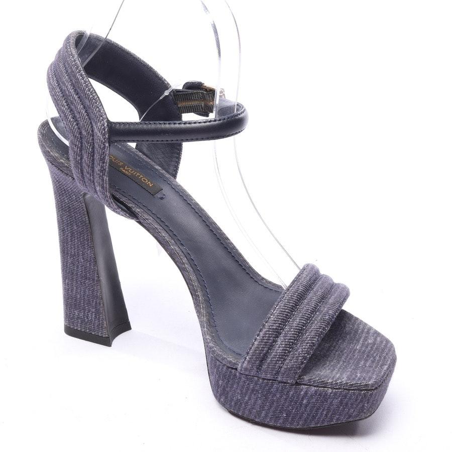 Sandaletten von Louis Vuitton in Blau Violett Gr. EUR 39