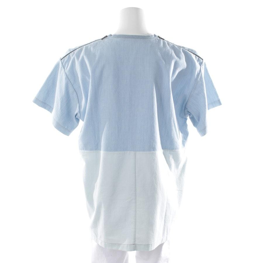 Blusenshirt von Victoria Beckham in Hellblau Gr. 36 / 2
